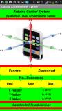 نظام تحكم لمنظومة الكترونية الاردينو عن طريق المتحسس التسارعي الخطي لموبايلالاندرويد